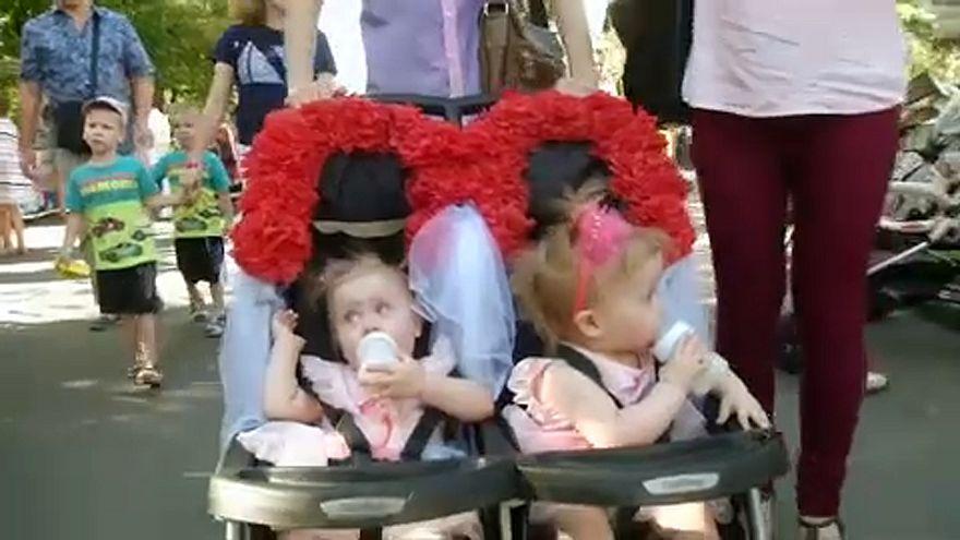 Двое из ларца: праздник близнецов в Киеве