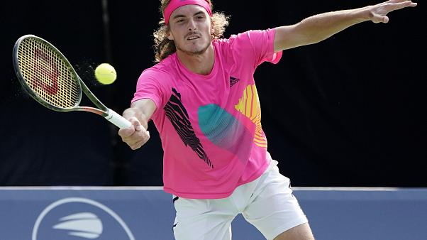 Stefanos Tsitsipas makes Rogers Cup final date with Rafa Nadal