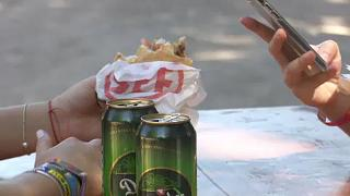 Ebédidő a Sziget Fesztiválon