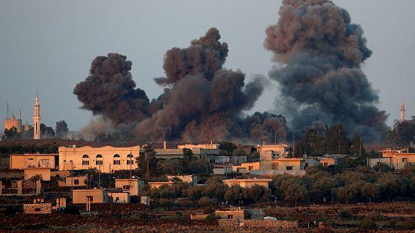 ۳۹ کشته در انفجار انبار مهمات در سوریه