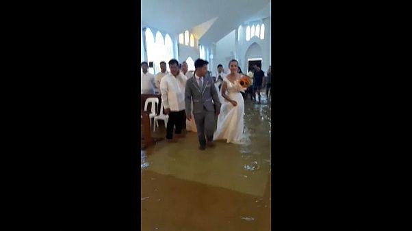 Casamento insólito nas Filipinas