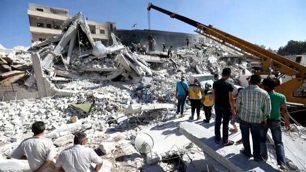 Dozens dead in Syria arms depot blast