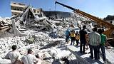 Dozens dead in Syria arms depot blast