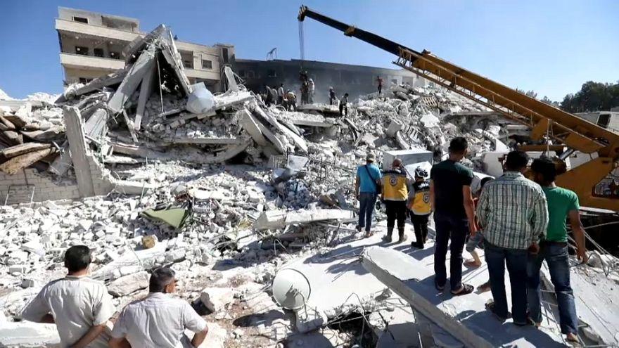 Al menos 39 muertos y decenas de desaparecidos en una explosión en Siria
