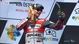 MotoGP : Lorenzo s'impose en Autriche