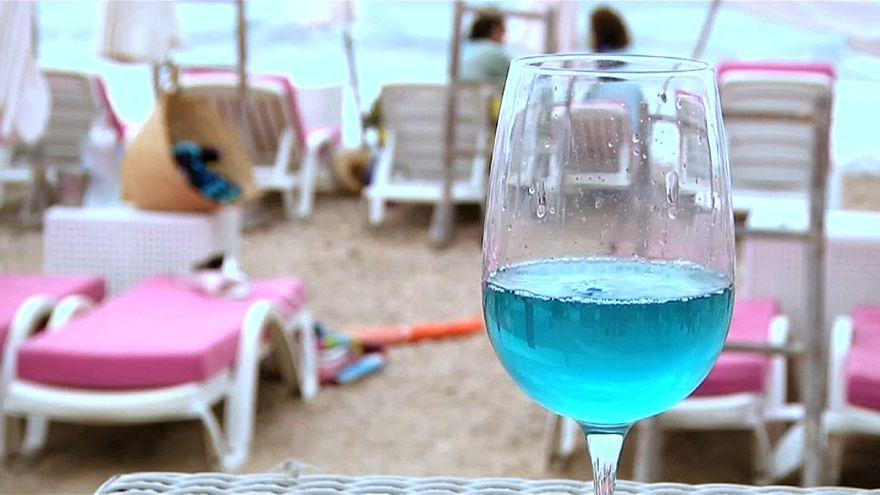Darf's ein Glas Blauer sein?