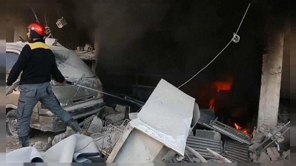 İdlib'de patlama: 39 sivil hayatını kaybetti