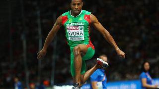 Nelson Évora campeão europeu de triplo salto