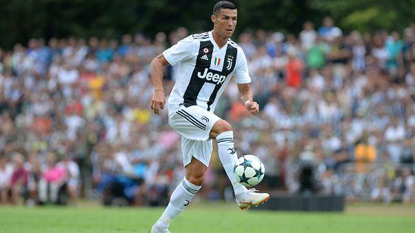 Ronaldo Juventus'taki ilk golünü attı