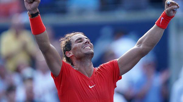 Rafael Nadal kariyerinin 80'inci turnuva şampiyonluğuna ulaştı
