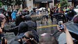 Una marea de manifestantes eclipsa una marcha neonazi en Washington