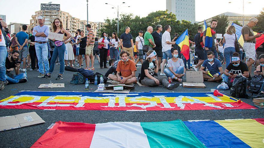 Fim de semana de protestos na Roménia
