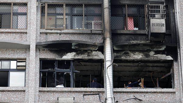 Tayvan'da bir hastanede yangın faciası: 9 ölü, 16 yaralı