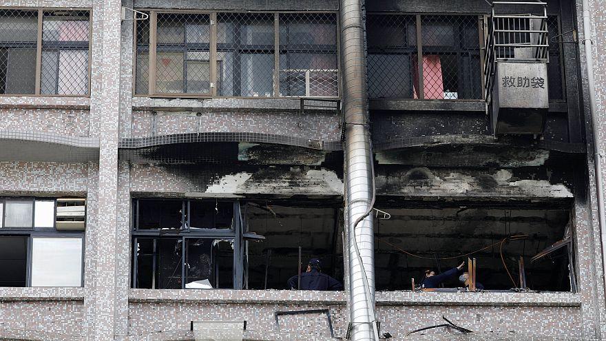 Incêndio em hospital de Taiwan faz nove mortos
