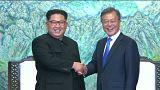 Moon Jae in- Kim Jong Un