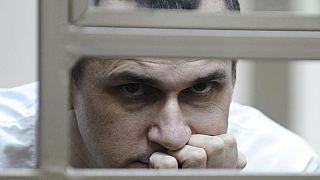 Режиссер Олег Сенцов в суде
