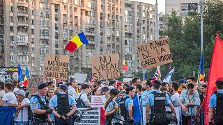 Nuevas protestas populares en Rumanía