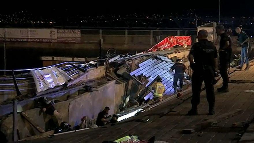 Colapso de passadiço faz mais de 300 feridos em festival de Vigo