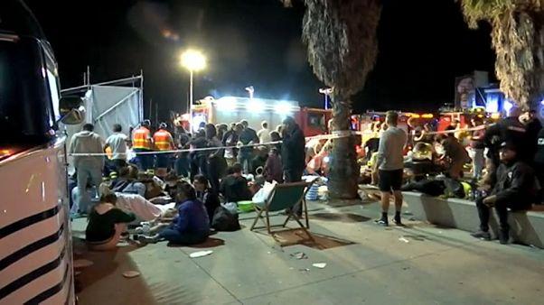 Más de 300 heridos por el desplome de una pasarela en Vigo