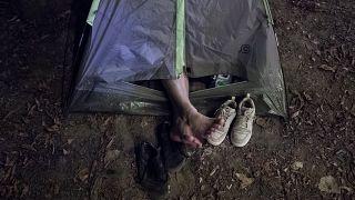 Használt kempingfelszerelés rászorulóknak