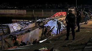 Paura in Spagna: crolla una piattaforma durante un concerto a Vigo