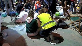 سقوط سکو در یک جشنواره موسیقی در شهر ویگو در شمال غربی اسپانیا