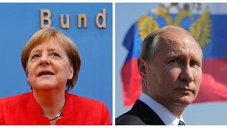 """Меркель и Путин обсудят """"Северный поток-2"""""""