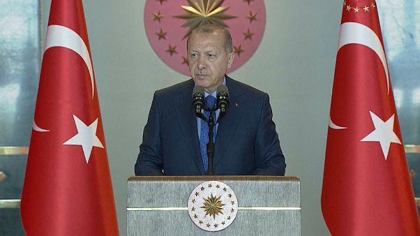 Cumhurbaşkanı Erdoğan: Biz savaşa hazırız