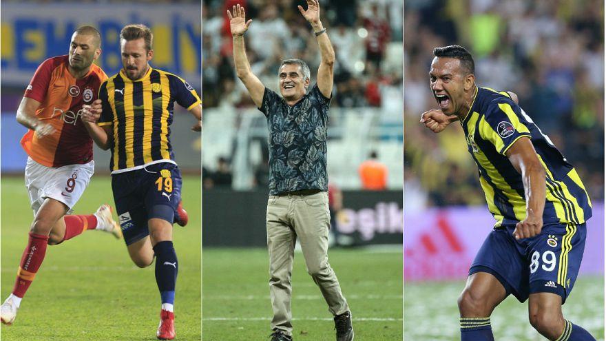 Süper Lig'in devleri sezona galibiyetle başladı