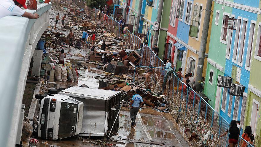 Inundações em Marikina, nas Filipinas