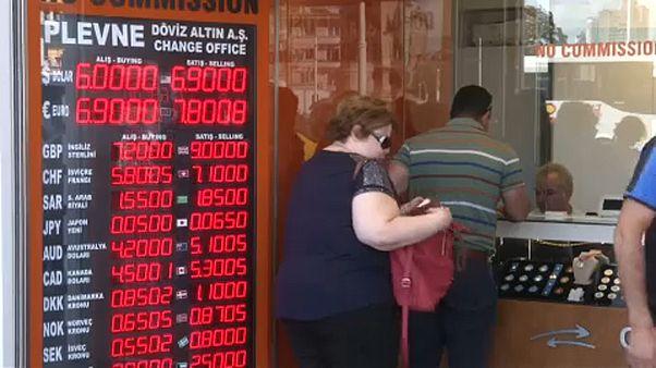 A török líra mélyrepülése nem tragédia, de a forintnak nem jó