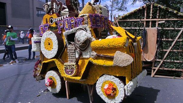 Необычный цветочный фестиваль
