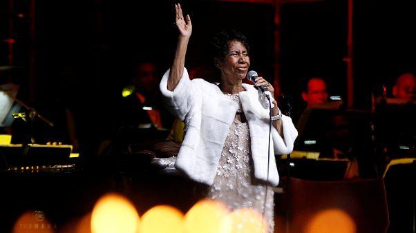 Dernière prestation Aretha Franklin novembre 2017 New York.