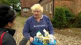 "Tee gefällig? Boris Johnson in ""humanitärer Mission"""