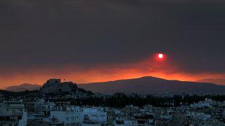 Újabb erdőtűz pusztít Görögországban