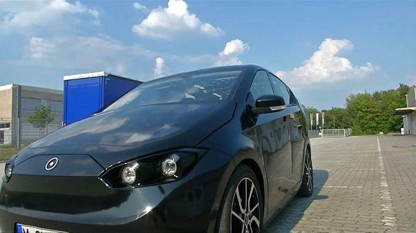 """Carro """"solar"""" Sion da Sono Motors"""