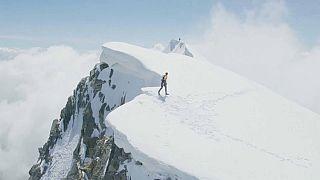 Speed-Rekord am Mont Blanc
