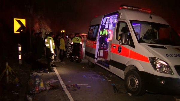 Équateur : un accident de bus fait 12 morts