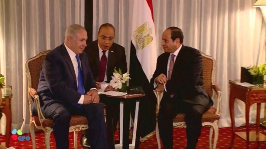 نتنياهو زار مصر والتقى بالسيسي سرّاً