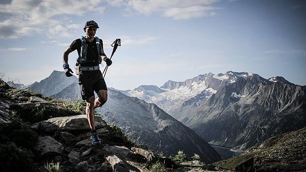 Daniel Jung auf dem Tiroler Höhenweg