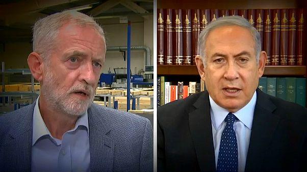Cruce de acusaciones entre Corbyn y Netanyahu