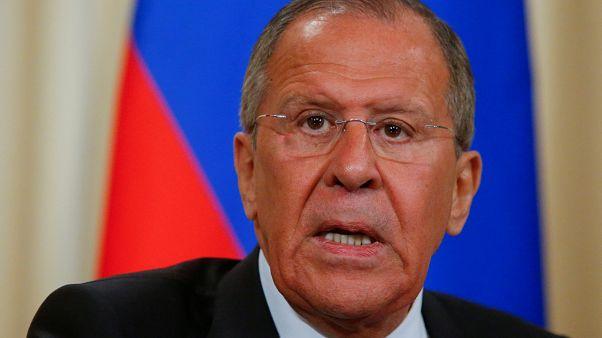 Rusya Dışişleri Bakanı Sergey Lavrov Ankara'da