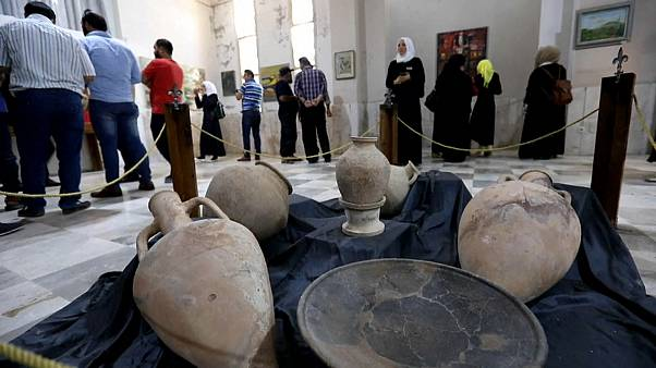 Museu de antiguidades reabre em Idlib