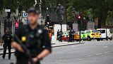 Perímetro de segurança em torno do Parlamento britânico
