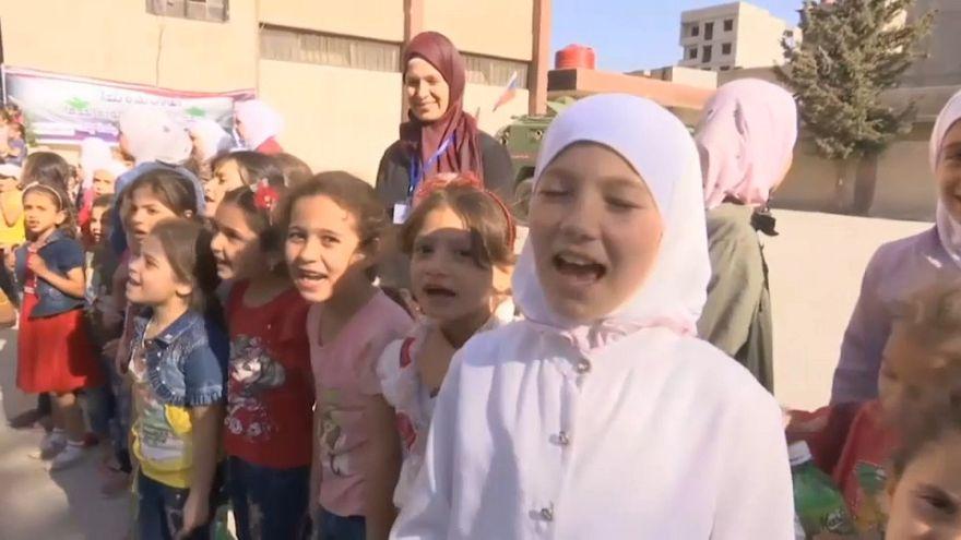 Siria, l'appello  del Governo all'Occidente per i rifugiati