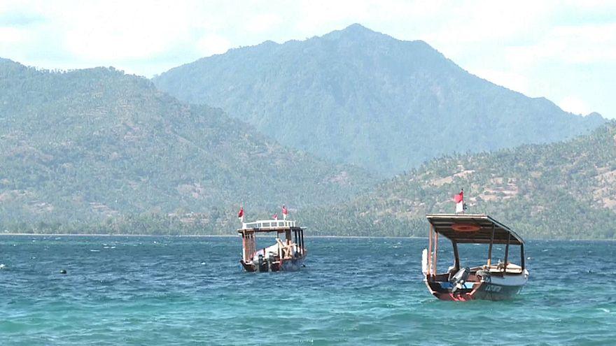Après le séisme, l'île de Lombok désertée par les touristes