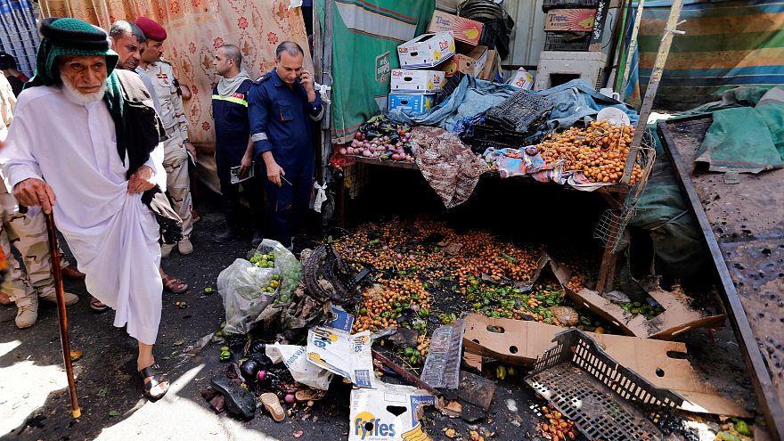 مقتل اثنين في انفجار قنبلة بسوق مزدحمة في بغداد