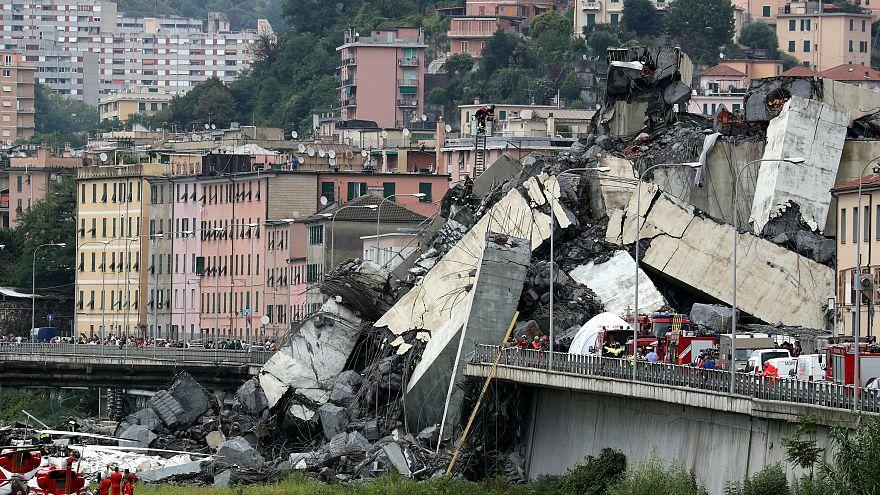 Genova, crolla ponte Morandi. Almeno trenta morti, anche un bimbo
