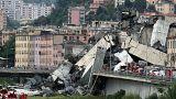 Ascienden a decenas los muertos en el derrumbe de un puente en Génova