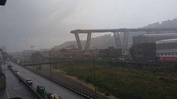 Десятки погибших при обрушении моста в Генуе